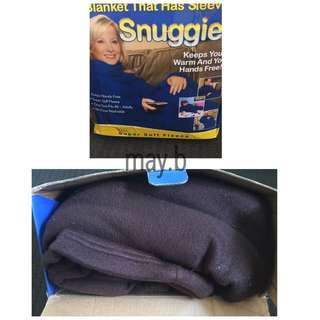 Snuggie In Chocolate Brown