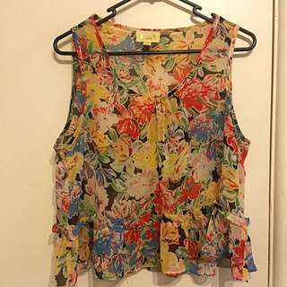 IDS Floral Top