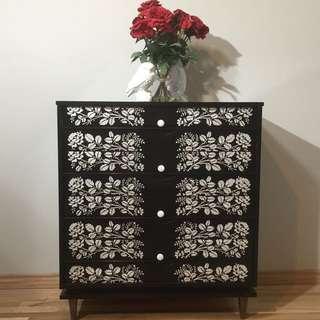 Refinished Vintage dresser