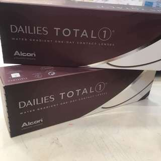 Alcon Total 1 高透氧 水凝層遞Con