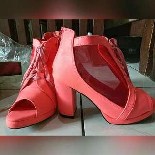 Koumi-Koumi Pink-a-Holic Heels
