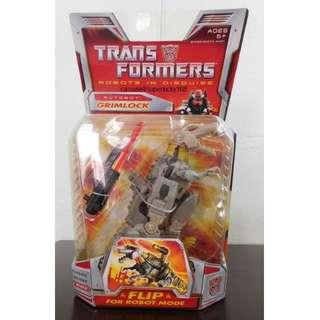 [BNIB] Transformers Autobot Grimlock Classic Deluxe Toy.
