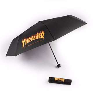 Thrasher Flame Umbrella Black Original