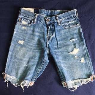 (特價)A & F 牛仔短褲
