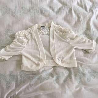 Lace Crop Cardigan