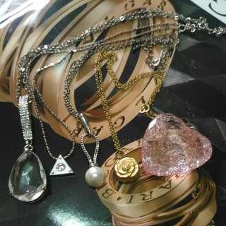 🚚 水鑽寶石項鍊一批