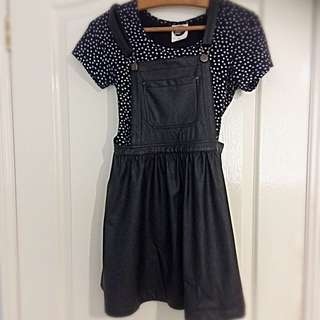 Leather Overall Dreas