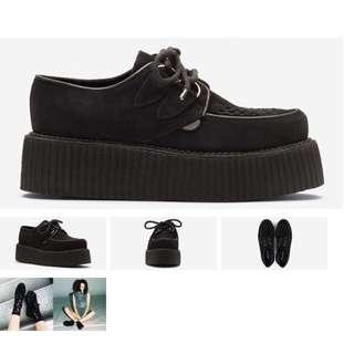 徵-underground 皮質鞋
