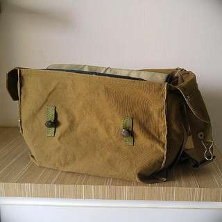 Vintage canvas bag (insert Not included)