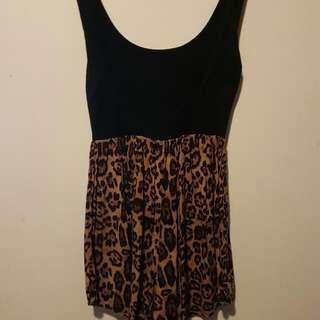 Leopard Playsuit