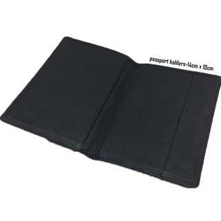 Artificial Leather-Passport Holder-14cm x 10cm