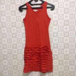 Dress Colourbox Orange