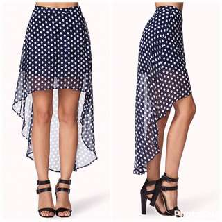 Flowy Hi-low Skirt