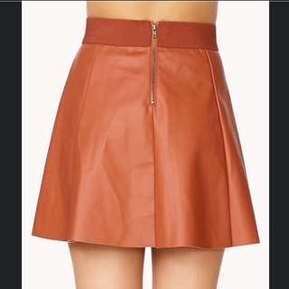 Forever21 Leatherette Skirt