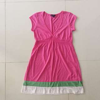 Miss Chievous Pink Baby Doll Dress