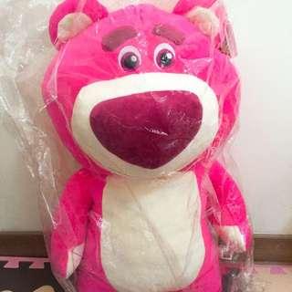 粉紅熊抱哥娃娃
