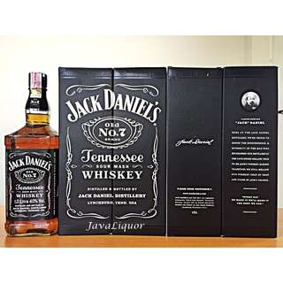 Jack Daniels Old No.7 Tennessee Whiskey Whisky 1Liter ORIGINAL 100%