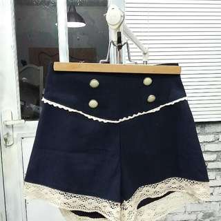 Hot Pants Navy