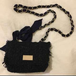 Forever New Navy Bow Bag
