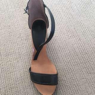 Small Black Heels - Target - Size 9