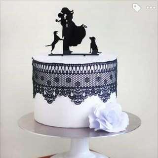 Reusable Cake Topper