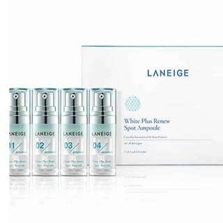Laneige White Plus Renew Spot Ampoule 7gr x 4pcs