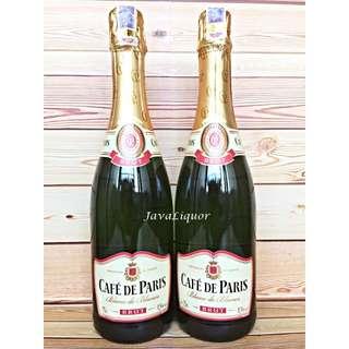 Cafe De Paris Brut Sparkling Wine ORIGINAL 100%
