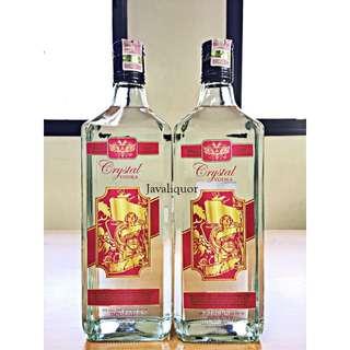 Crystal Vodka Sweden ORIGINAL 100%
