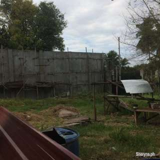 Lot For Sale!!!! Along The Road.With Concrete Fence, Firewall and Gated.
