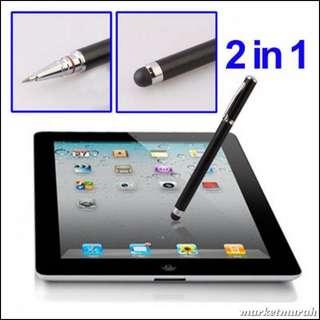 Ballpoint stylus Capacitive Touch Pen untuk Tablet/Smartphone