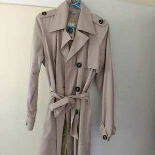 Trench Coat Size 16 Brand New With Tags