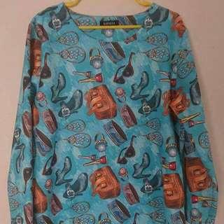 Casual Dress (Size: L) #under20