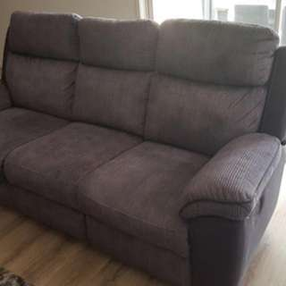 3 Seater And 2 Single Recliners