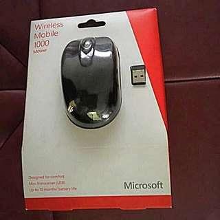 微軟無線滑鼠