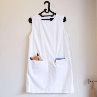 Basic White Dress ATSthelabel