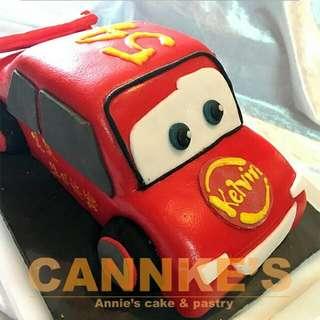 🍰  3D反斗車王蛋糕 . 🍭 如果你不想再平凡的渡過生日