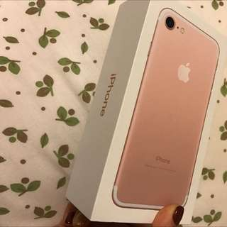 IPhone 7 Rose Gold(repriced)