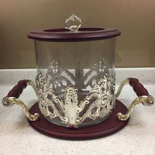 Fancy Canister Glass