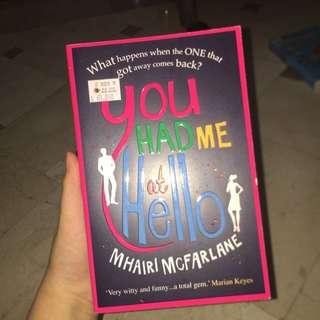 You Had Me At Hello Novel