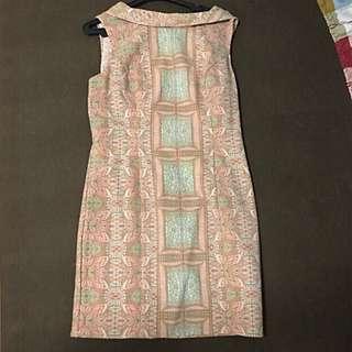Forever 21 Sleeveless Printed Dress