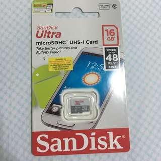 Sandisk 16gb micro sd