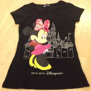Hong Kong Disneyland Girl Top