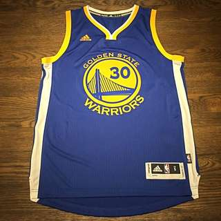 $50 CLEARANCE! Brand New Authentic Adidas Swingman GSW Stephen Curry Jersey Size S