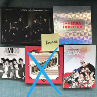 WTS: VIXX BTOB B1A4 SHINEE KNK KPOP ALBUMS