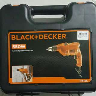 Electric Drill With Hammer