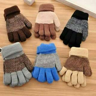 Warm Winter Gloves For Boys