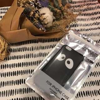 I Phone 6/6s 大眼睛手機殼 (黑)