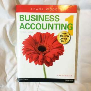 Business Accounting 1 Frank Wood's Thirteenth Edition