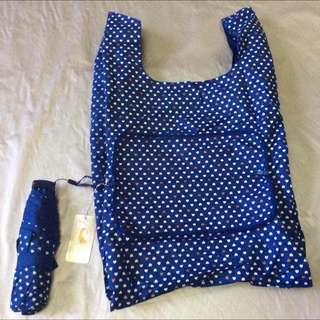 Umbrella with Shopping bag cover