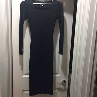 Kookai Beverly Dress In Black - One Size Fits All
